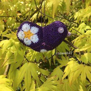 A purple little bird by caswell47